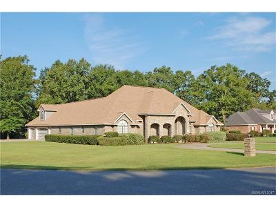 Bossier, Bossier City, Bossier', Shreveport, Sheveport, Shreveort, Shreveport-, Shreveport/blanchard, Shreverport Single Family Home For Sale: 3714 Mallard Bay