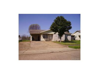 Bossier City Single Family Home For Sale: 1105 Dot