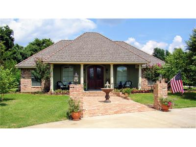 Bossier, Bossier City, Bossier', Shreveport, Sheveport, Shreveort, Shreveport-, Shreveport/blanchard, Shreverport Single Family Home For Sale: 1829 Castlewood Drive