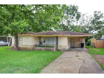 Bossier City LA Single Family Home For Sale: $75,000
