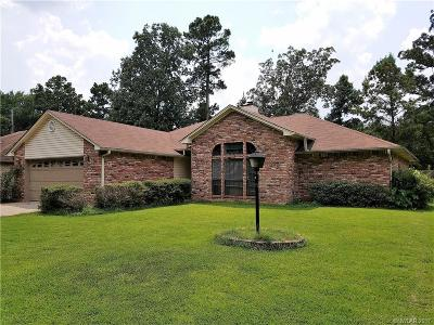 Haughton Single Family Home For Sale: 217 Deerwood Lane