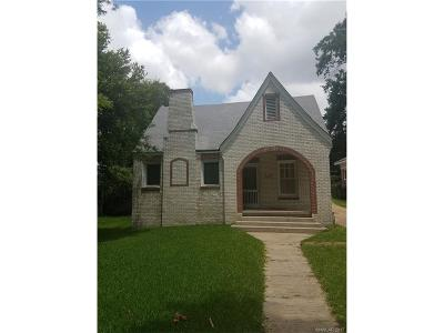 Shreveport LA Single Family Home For Sale: $58,000