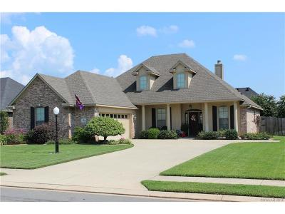 Bossier City Single Family Home For Sale: 704 Reeds Reef Street