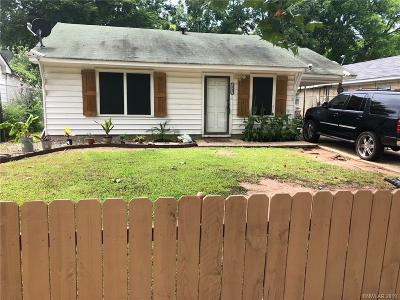 Bossier City LA Single Family Home For Sale: $65,000