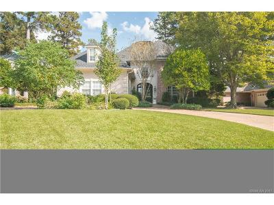Bossier, Bossier City, Bossier', Shreveport, Sheveport, Shreveort, Shreveport-, Shreveport/blanchard, Shreverport Single Family Home For Sale: 10935 Longfellow Trace