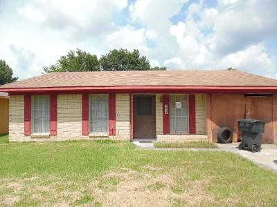 Bossier City LA Single Family Home For Sale: $69,900