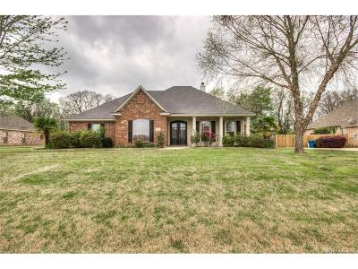 Bossier, Bossier City, Bossier', Shreveport, Sheveport, Shreveort, Shreveport-, Shreveport/blanchard, Shreverport Single Family Home For Sale: 193 Lakewood Pointe