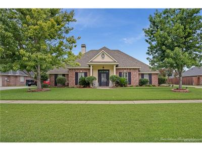 Bossier City Single Family Home For Sale: 1812 Bayou Bend Drive