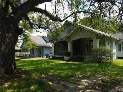 Shreveport LA Single Family Home For Sale: $30,000
