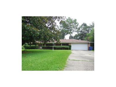 Shreveport Single Family Home For Sale: 6305 Santa Monica Boulevard