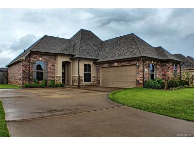 Bossier City Single Family Home For Sale: 409 Remington Drive