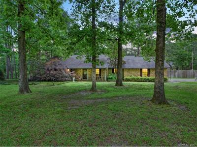 Haughton Single Family Home For Sale: 100 Woodcrest Drive