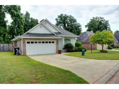 Haughton Single Family Home For Sale: 109 Red Fox