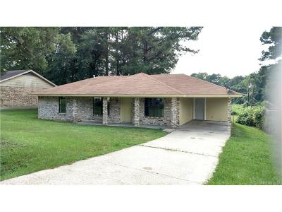Minden Single Family Home For Sale: 113 Eisenhower Drive