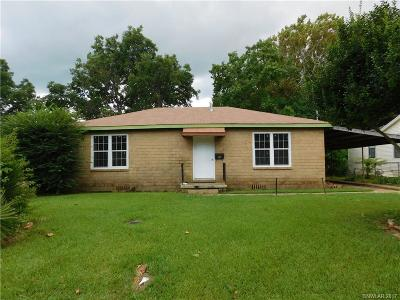 Bossier City Single Family Home For Sale: 2612 Northside Drive