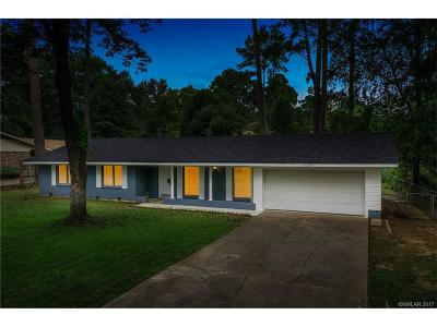 Sheveport, Shreveort, Shreveport, Shreveport-, Shreveport/blanchard, Shreverport, Shrveport Single Family Home For Sale: 6224 Trailwood
