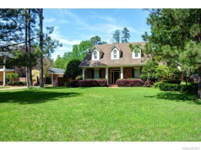 Benton Single Family Home For Sale: 4025 Wisteria Lane
