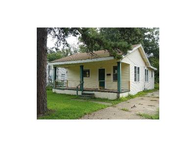 Shreveport LA Single Family Home For Sale: $25,000