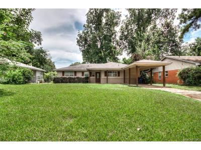 Sheveport, Shreveort, Shreveport, Shreveport-, Shreveport/blanchard, Shreverport, Shrveport Single Family Home For Sale: 3851 Greenway Place