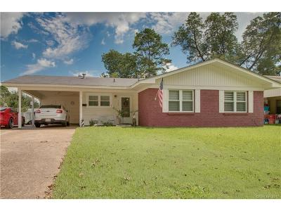 Bossier City Single Family Home For Sale: 4103 Lark Street