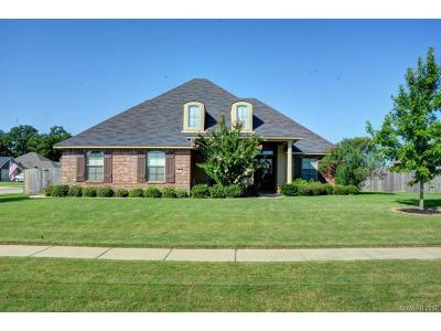 Bossier City Single Family Home For Sale: 2501 Prairie Moss Drive