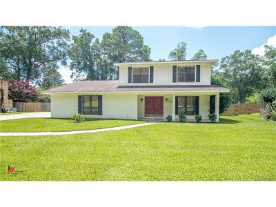 Shreveport Single Family Home For Sale: 9545 Pitch Pine Drive