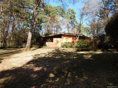 Shreveport Single Family Home Contingent: 7133 Gilbert Drive