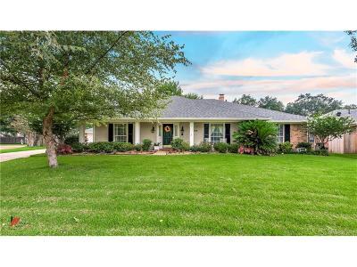 Shreveport Single Family Home Contingent: 7619 Chesapeake Drive