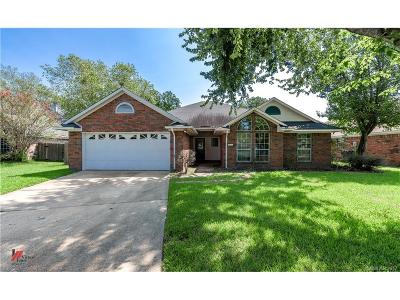 Bossier City Single Family Home For Sale: 2222 Middle Creek Boulevard