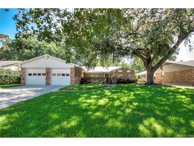 Shreveport Single Family Home For Sale: 7217 University Drive
