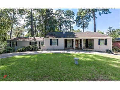 Shreveport Single Family Home For Sale: 4112 Fairfield