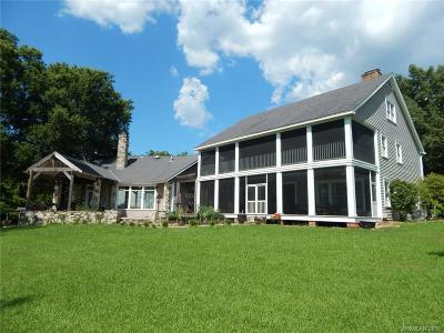Sheveport, Shre Veport, Shreveport, Shreveport/blanchard, Shrevport, Shrveport, Srheveport Single Family Home For Sale: 7115 N Lakeshore Drive