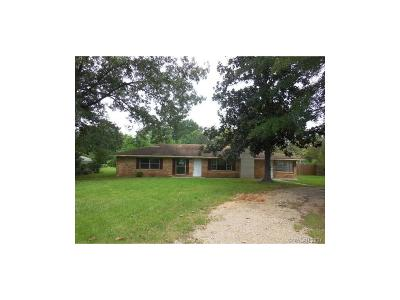 Haughton Single Family Home For Sale: 2624 Bellevue Road