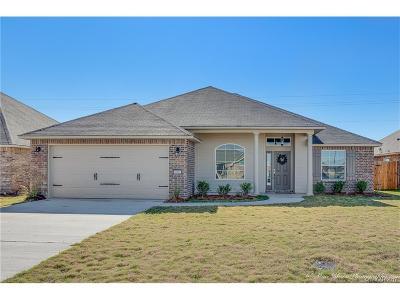 Bossier City Single Family Home For Sale: 455 Jordan Drive