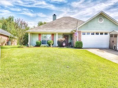 Bossier City LA Single Family Home For Sale: $175,500