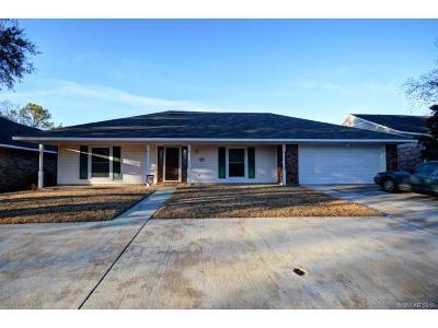 Bossier City Single Family Home For Sale: 407 Edgemont Drive
