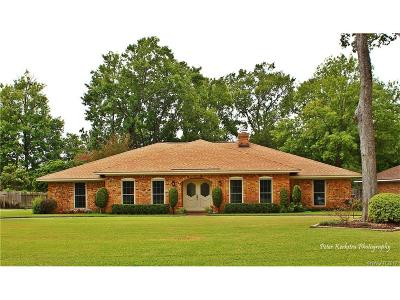 Bossier City Single Family Home For Sale: 5418 Coach Road