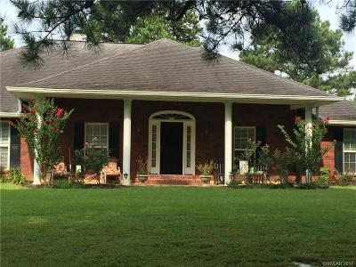 Haughton Single Family Home For Sale: 1194 Wafer Road
