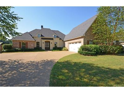 Bossier City Single Family Home For Sale: 1011 Spanish Moss Circle