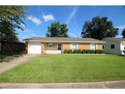 Bossier City Single Family Home For Sale: 4607 General Ewell Drive