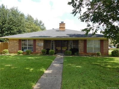 Bossier City Single Family Home For Sale: 133 Lancashire Drive