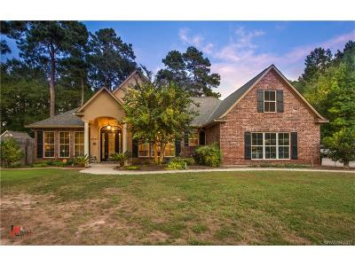 Benton Single Family Home For Sale: 2867 Hillcrest Circle
