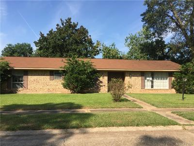 Bossier City LA Single Family Home For Sale: $152,500