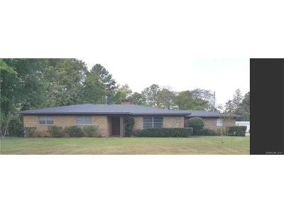 Benton Single Family Home For Sale: 1323 Palmetto Road