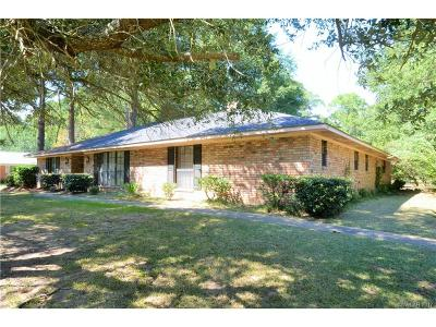 Shreveport LA Single Family Home For Sale: $167,500