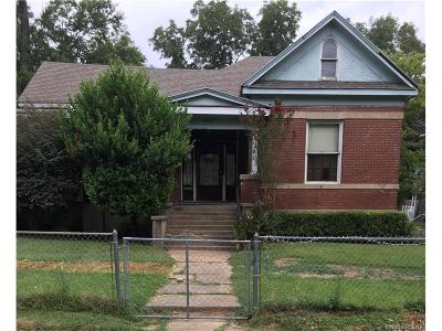 Shreveport LA Single Family Home For Sale: $60,000