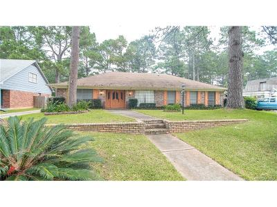 Shreveport LA Single Family Home For Sale: $189,900
