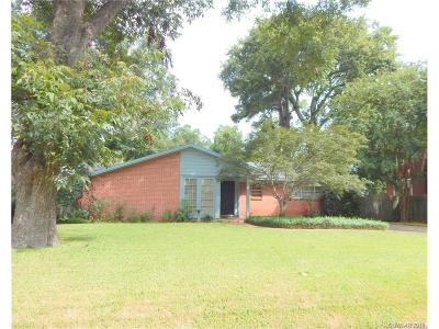 Shreveport LA Single Family Home For Sale: $158,000