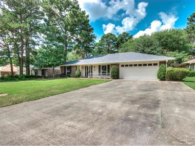 Shreveport LA Single Family Home For Sale: $163,000