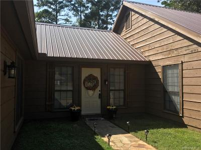 Haughton Single Family Home For Sale: 105 Woodcrest Drive
